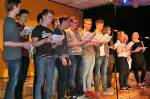 Der Musikkurs Q2 singt den Four-Accord-Song
